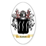 Radford Sticker (Oval 50 pk)