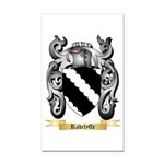 Radclyffe Rectangle Car Magnet