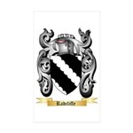 Radcliffe Sticker (Rectangle 10 pk)