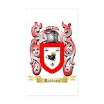 Radburn Sticker (Rectangle 10 pk)