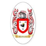 Radburn Sticker (Oval 10 pk)