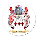 Rachels Round Car Magnet