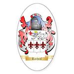 Racheal Sticker (Oval)