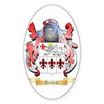 Racheal Sticker (Oval 50 pk)