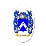 Rabson 35x21 Oval Wall Decal