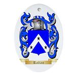 Rablan Oval Ornament