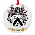 Rabit Round Ornament