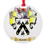 Rabette Round Ornament