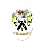Rabette Oval Car Magnet