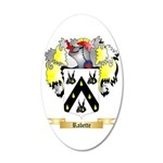 Rabette 20x12 Oval Wall Decal