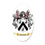 Rabbitts Oval Car Magnet