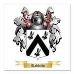 Rabbitts Square Car Magnet 3