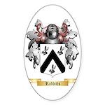 Rabbitts Sticker (Oval)