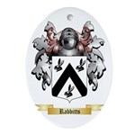 Rabbitts Oval Ornament