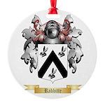 Rabbitte Round Ornament