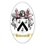 Rabbitte Sticker (Oval)