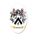 Rabbitte 20x12 Oval Wall Decal