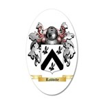 Rabbitte 35x21 Oval Wall Decal