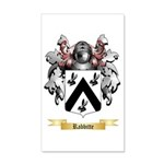 Rabbitte 20x12 Wall Decal