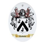 Rabbitte Oval Ornament