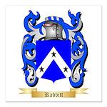 Rabbitt Square Car Magnet 3