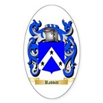 Rabbitt Sticker (Oval 10 pk)