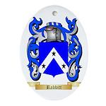 Rabbitt Oval Ornament