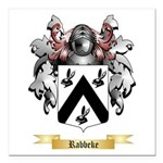Rabbeke Square Car Magnet 3