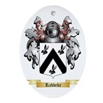 Rabbeke Oval Ornament