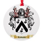 Rabbatts Round Ornament
