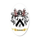 Rabbatts Oval Car Magnet