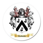 Rabbatts Round Car Magnet