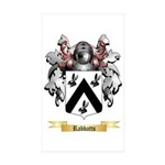 Rabbatts Sticker (Rectangle 10 pk)