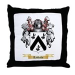 Rabbatts Throw Pillow