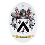 Rabbatts Oval Ornament