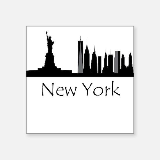 New York City Cityscape Sticker