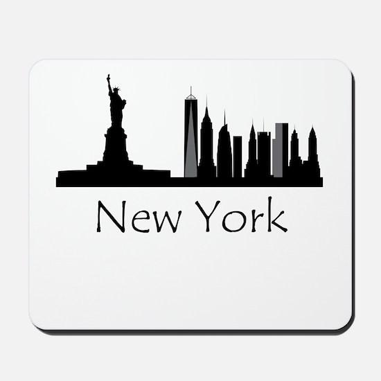 New York City Cityscape Mousepad