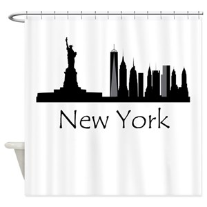 Cityscape Shower Curtains