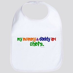 My Mommy & Daddy Are Chefs (PRIMARY) Bib