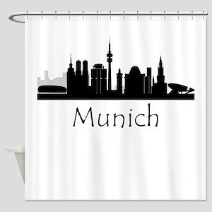 Munich Germany Cityscape Shower Curtain