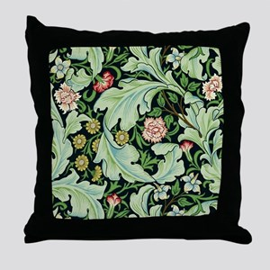 Acanthus and Flowers by William Morris Throw Pillo