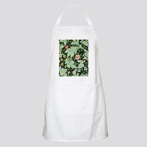 Acanthus and Flowers by William Morris Apron