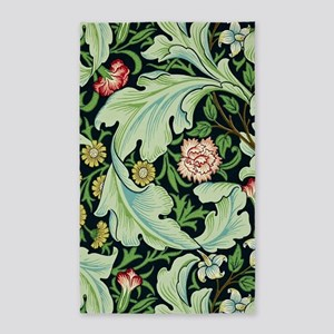 Acanthus and Flowers by William Morris Area Rug
