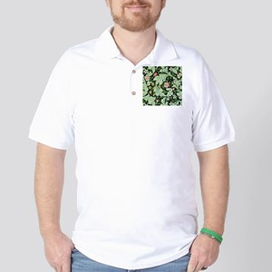 Acanthus and Flowers by William Morris Golf Shirt