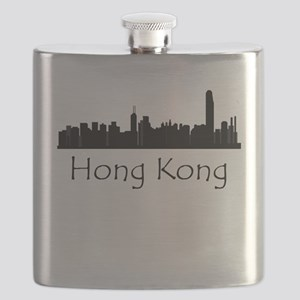 Hong Kong China Cityscape Flask