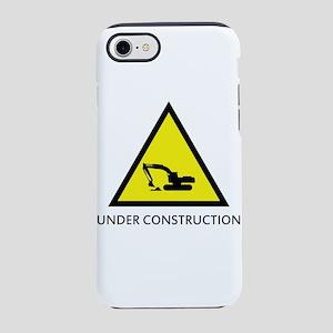 under construction iPhone 8/7 Tough Case