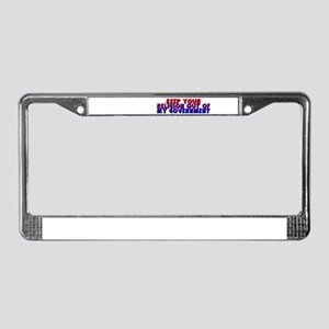 Keep Your Religion Out Of My License Plate Frame
