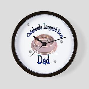 Catahoula Dad Wall Clock