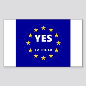 Europe, Be a Part of It! Sticker (Rectangle)