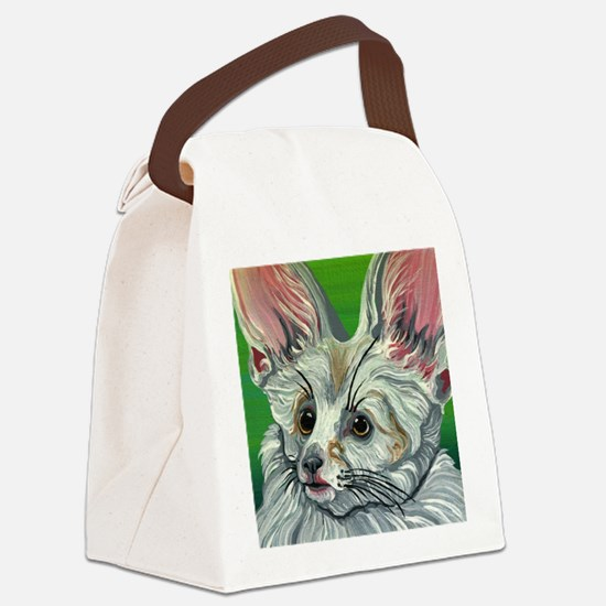 Fennec Fox Wildlife Canvas Lunch Bag